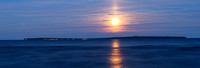 Moonrise over Madeline Island WR-0418